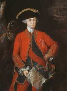 Thomas Gainsborough - Robert, Lord Clive (1725–1774), in General Officer's Uniform