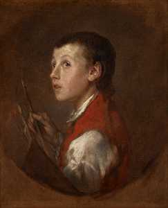 Thomas Gainsborough - Portrait of an Unknown Youth (The Pitminster Boy)