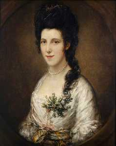 Thomas Gainsborough - Portrait of a Lady (possibly Lady Eden)