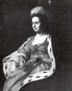 John Singleton Copley - Abigail Smith Babcock (Mrs. Adam Babcock), (painting)