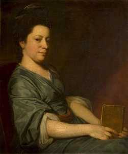 George Romney - Mrs Thomas Rackett (c.1734–1800)