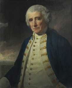 George Romney - Admiral John Forbes (1714–1796)
