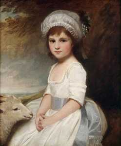 George Romney - Miss Martindale