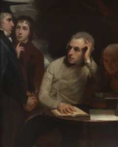 George Romney - The Four Friends