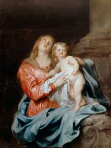 Anthony Van Dyck - The Madonna and Child