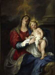 Anthony Van Dyck - The Virgin and Child