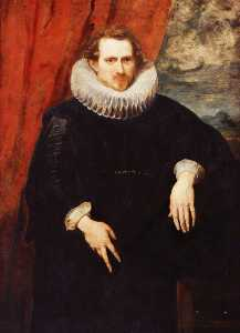 Anthony Van Dyck - Portrait of a Man