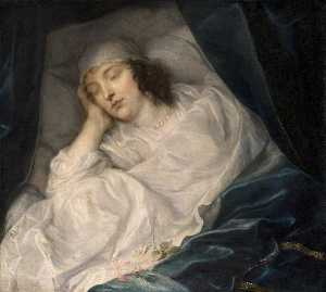 Anthony Van Dyck - Venetia Stanley (1600–1633), Lady Digby, on Her Deathbed