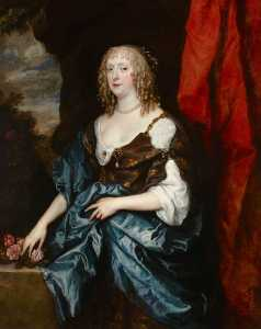 Anthony Van Dyck - Catherine Bruce (d.1649), Mrs William Murray