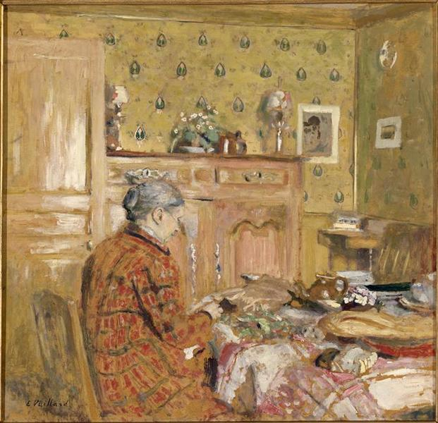 LE DEJEUNER DU MATIN by Jean Edouard Vuillard (1868-1940, France) | Art Reproduction | WahooArt.com
