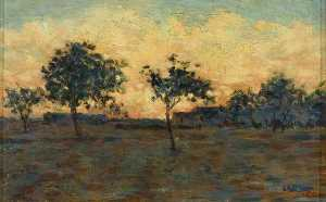 Georges Pierre Seurat - Sunset