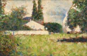 Georges Pierre Seurat - House among Trees