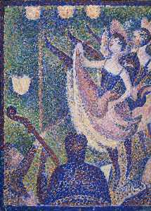 Georges Pierre Seurat - Study for -Le Chahut-