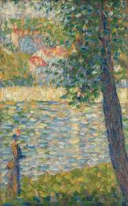 Georges Pierre Seurat - The Morning Walk