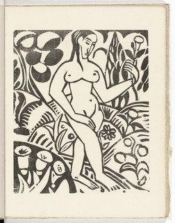Plate (folio 11) from L`Enchanteur pourrissant, 1909 by André Derain (1880-1954, France) | Oil Painting | WahooArt.com