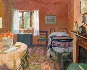 William Whitehead Ratcliffe - Cottage Interior