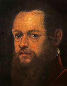 Jacopo Tintoretto - Portrait of a Bearded Man