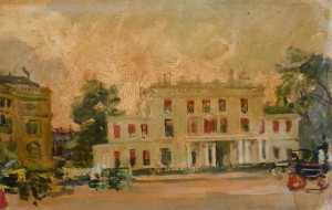 Jacques-Emile Blanche - London Third View of Belgrave Square