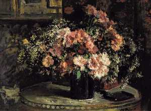 Jacques-Emile Blanche - Flower Still life