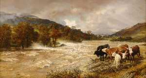Henry William Banks Davis - The Flood