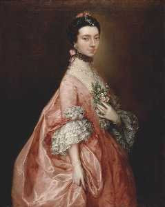 Thomas Gainsborough - Mary Little, Later Lady Carr