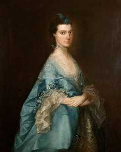 Thomas Gainsborough - Miss Edgar