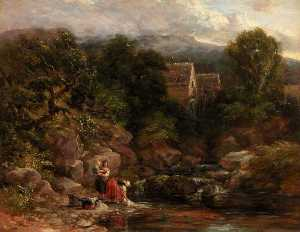 David Cox The Elder - Pandy Mill