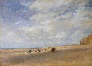 David Cox The Elder - Rhyl Sands