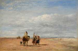 David Cox The Elder - The Shrimpers