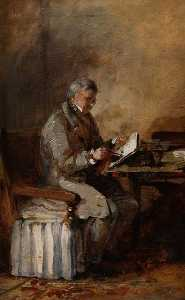 David Cox The Elder - Self Portrait