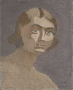 Milton Avery - Portrait of a Girl