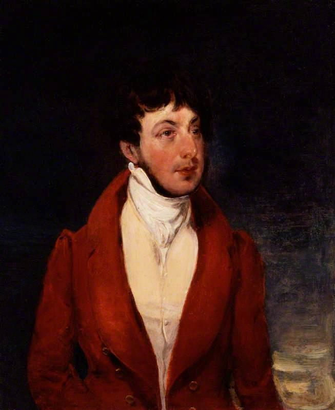 George Osbaldeston by Francis Grant (1803-1878, United Kingdom) | Painting Copy | WahooArt.com