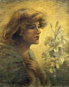 Walford Graham Robertson - Ellen Terry (1847–1928), CBE, Hon. LLD, First President of the Servers of the Blind League