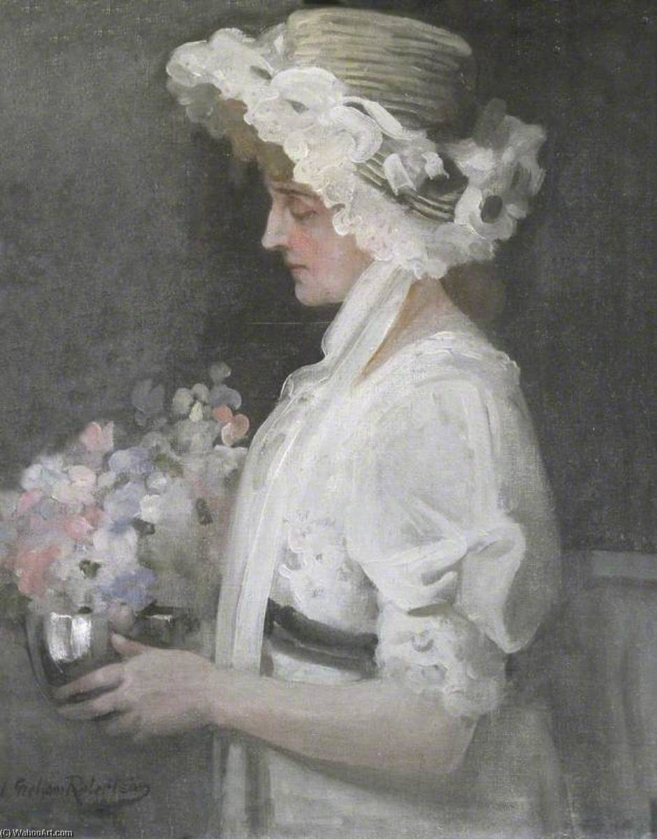 Kitty Cheatham (1864–1946), `Katherine`, 1912 by Walford Graham Robertson | Museum Quality Reproductions | WahooArt.com
