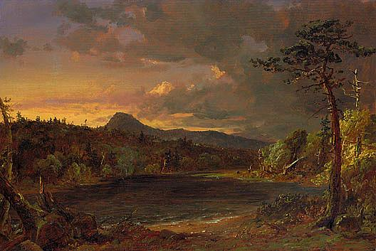 Catskill Creek, (painting), Oil On Canvas by Jasper Francis Cropsey (1823-1900, United States)