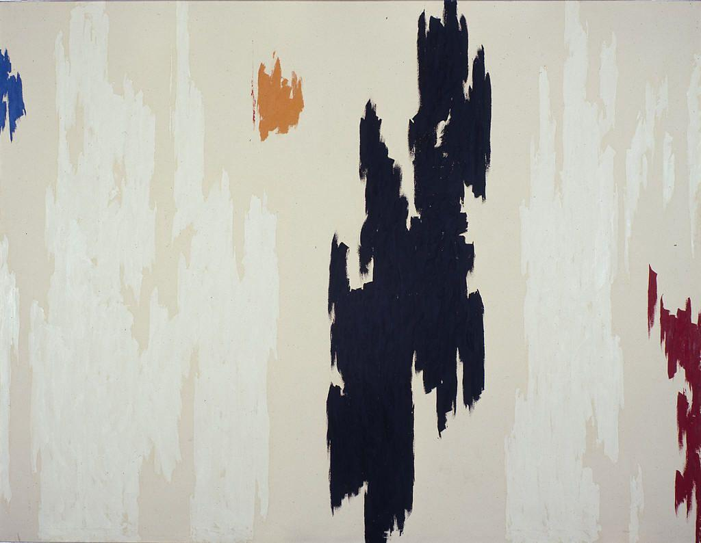 1962 D, Oil On Canvas by Clyfford Still (1904-1980, United States)