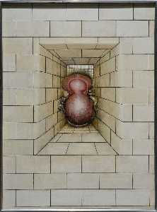 Gregory Gillespie - Tile Wall