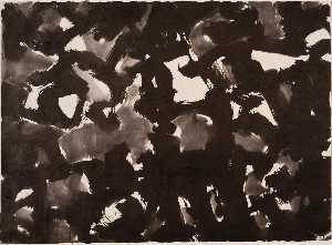 Mark Tobey - Black White