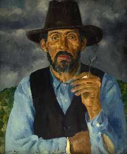 Order Art Reproductions | Old Miguel by Randall Davey | WahooArt.com