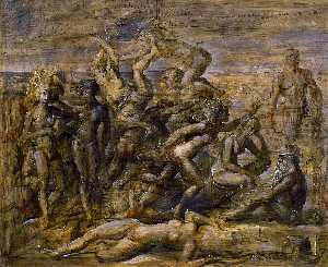 Reginald Marsh - Coney Island Beach