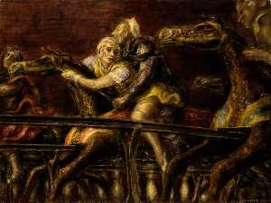 Reginald Marsh - George Tilyou-s Steeplechase