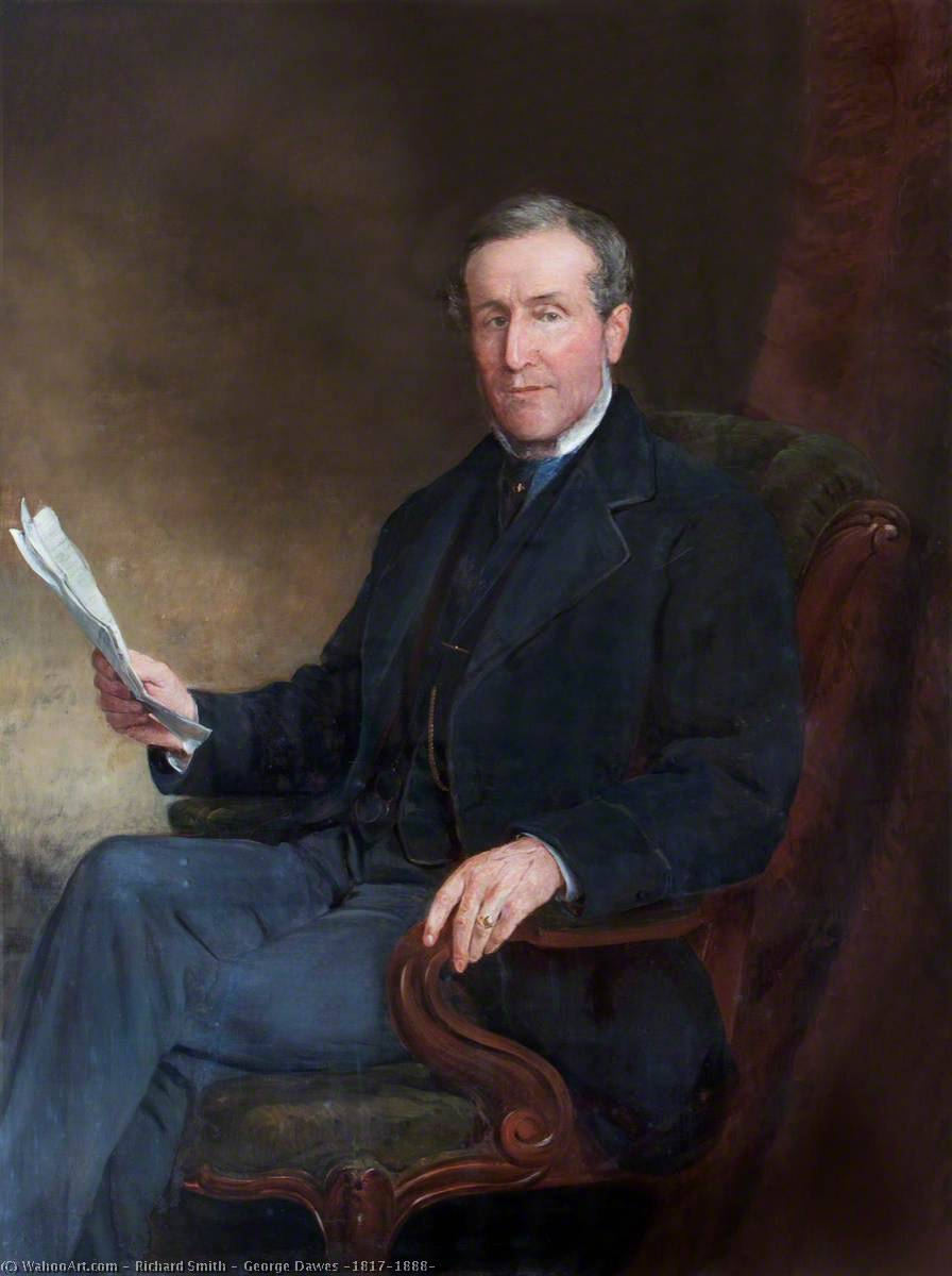George Dawes (1817–1888), 1863 by Richard Smith | Art Reproduction | WahooArt.com