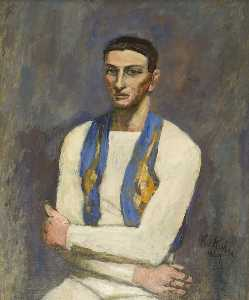 Walt Kuhn - Acrobat in White and Blue
