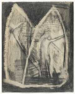 Ronald Bladen - Untitled (Figures in Gothic Arches)
