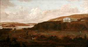 Gerard Van Edema - A View of Mount Edgcumbe from Cremyll