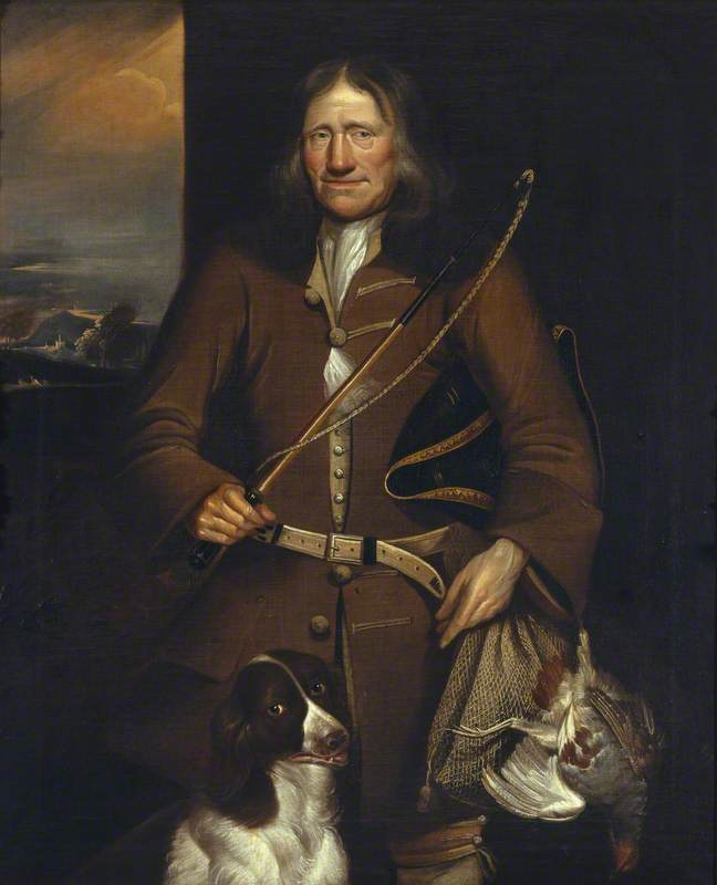The Dudmaston Gamekeeper, George Griffith ( ), 1723 by George Alsop | Art Reproduction | WahooArt.com