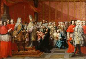 Antonio David - The Baptism of Prince Charles Edward Stuart
