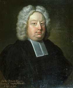 James Fellowes - The Reverend Richard Davies (1637–1746), Canon of St Asaph