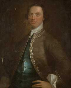 James Fellowes - William Vaughan (c.1707–1775)