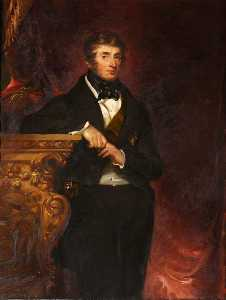 John Hayter - Charles Brudenell Bruce (1773–1856), 2nd Earl 1st Marquess of Ailesbury